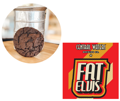 Fudge Cookie with Central Waters Fat Elvis