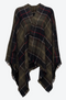 Barbour Staffin Tartan Serape, Dame