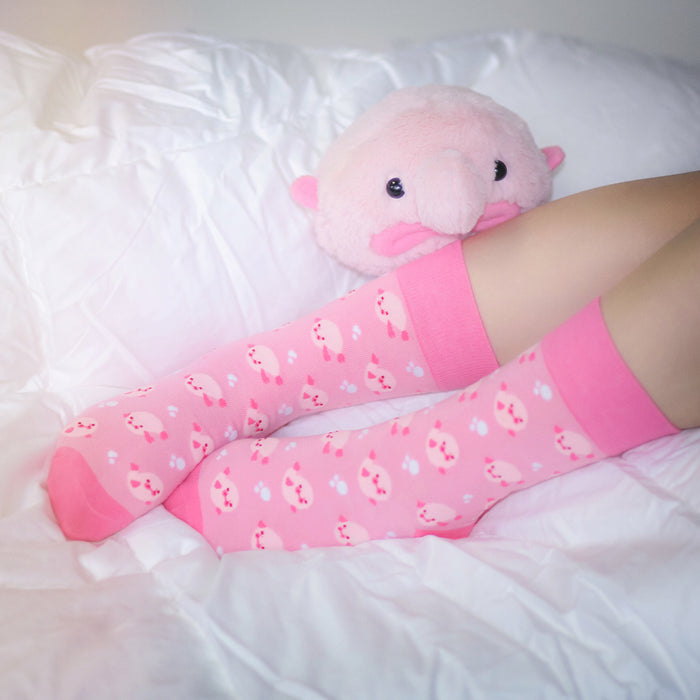 Blobfish Socks