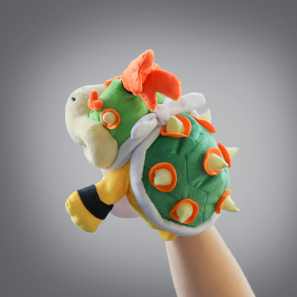 Super Mario Bros: Bowser Jr. Puppet (back view)