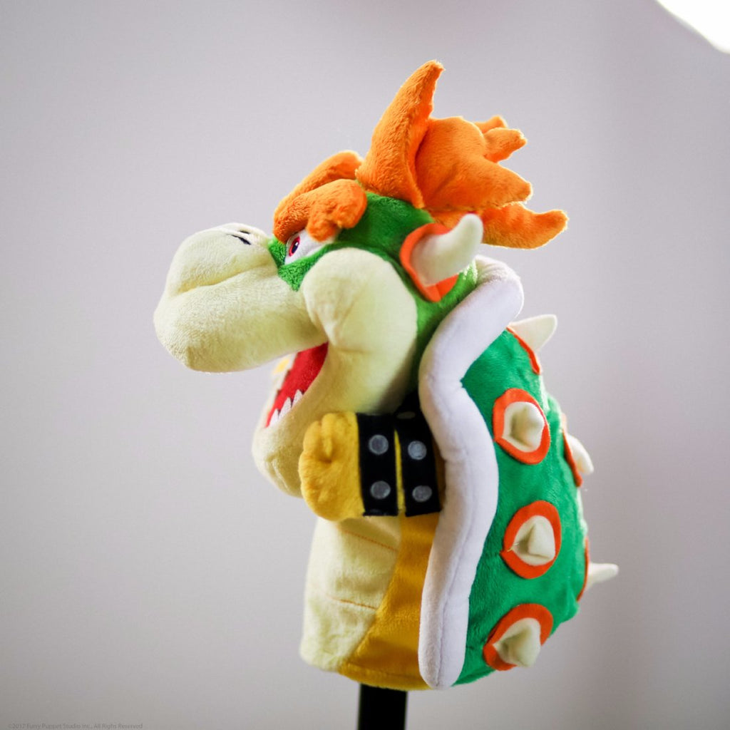 Super Mario Bros: Official Bowser puppet (profile view)