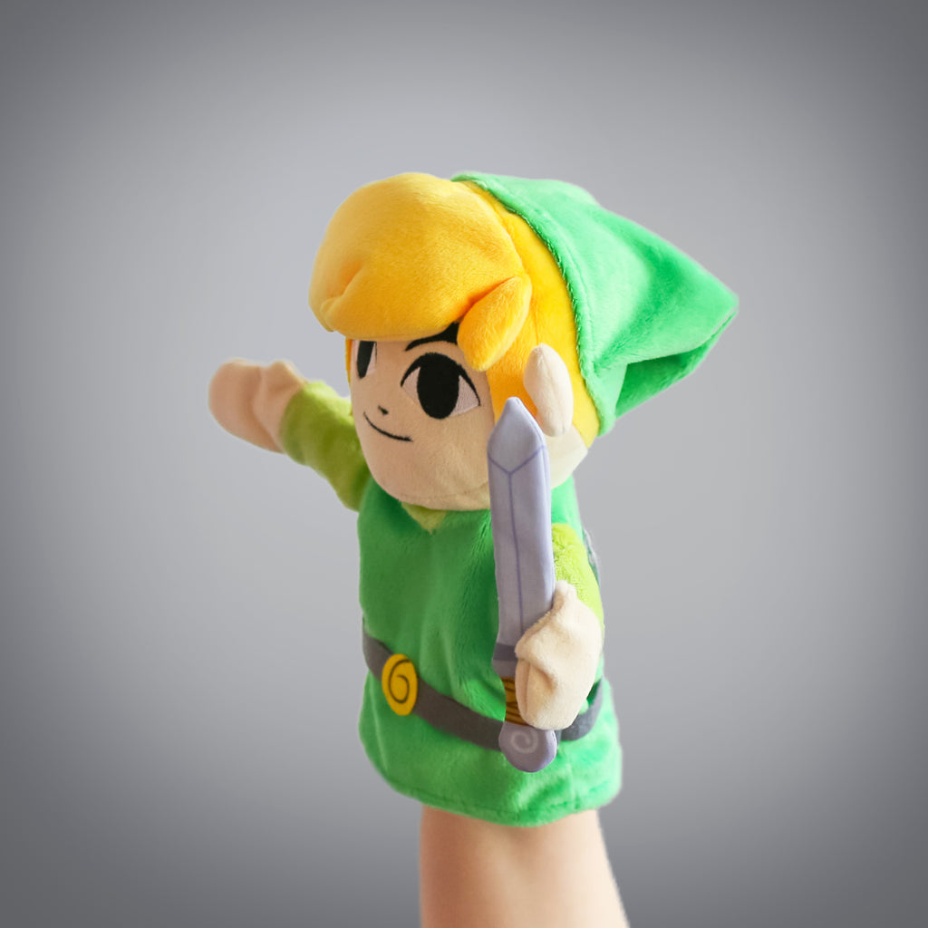 The Legend of Zelda: Link puppet (profile view)