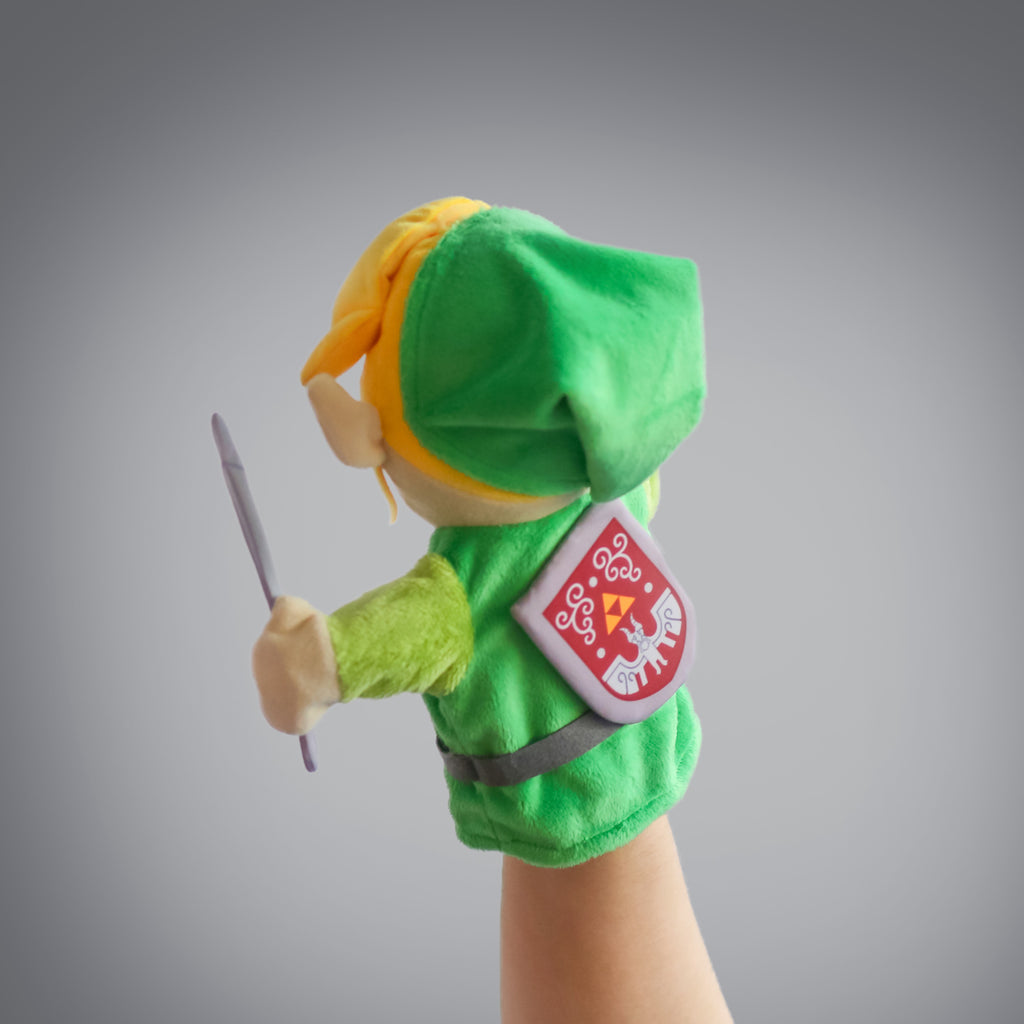 The Legend of Zelda: Link puppet (back view)