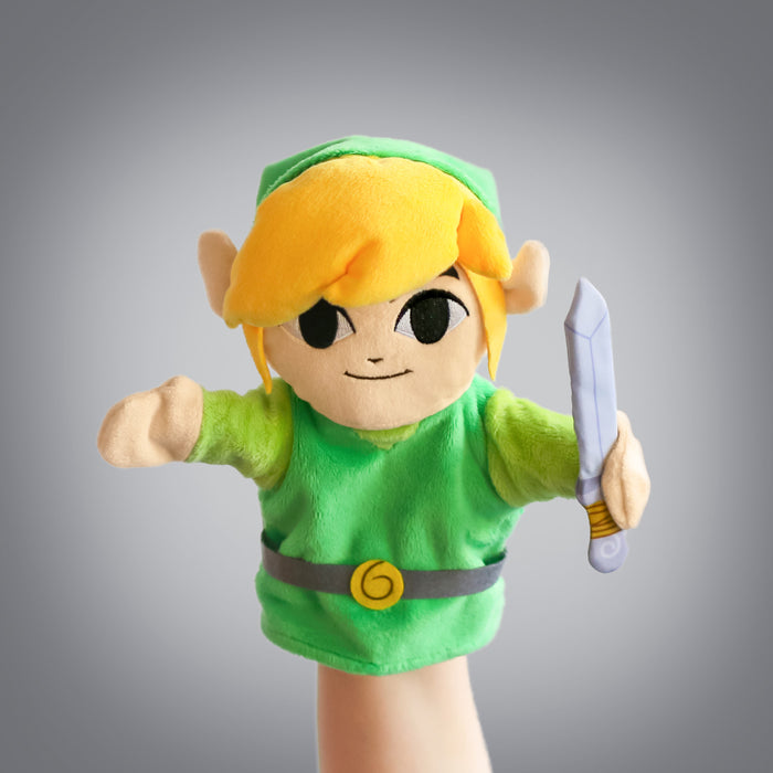 The Legend of Zelda: Link puppet (frontal view)