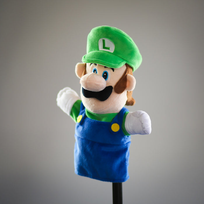 Super Mario Bros: official Luigi puppet