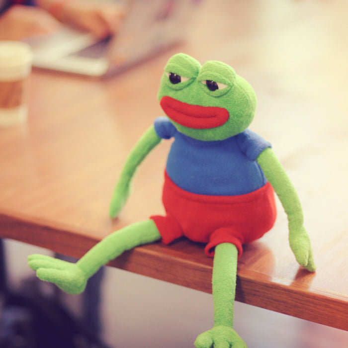 Pepe the Frog - Plush doll