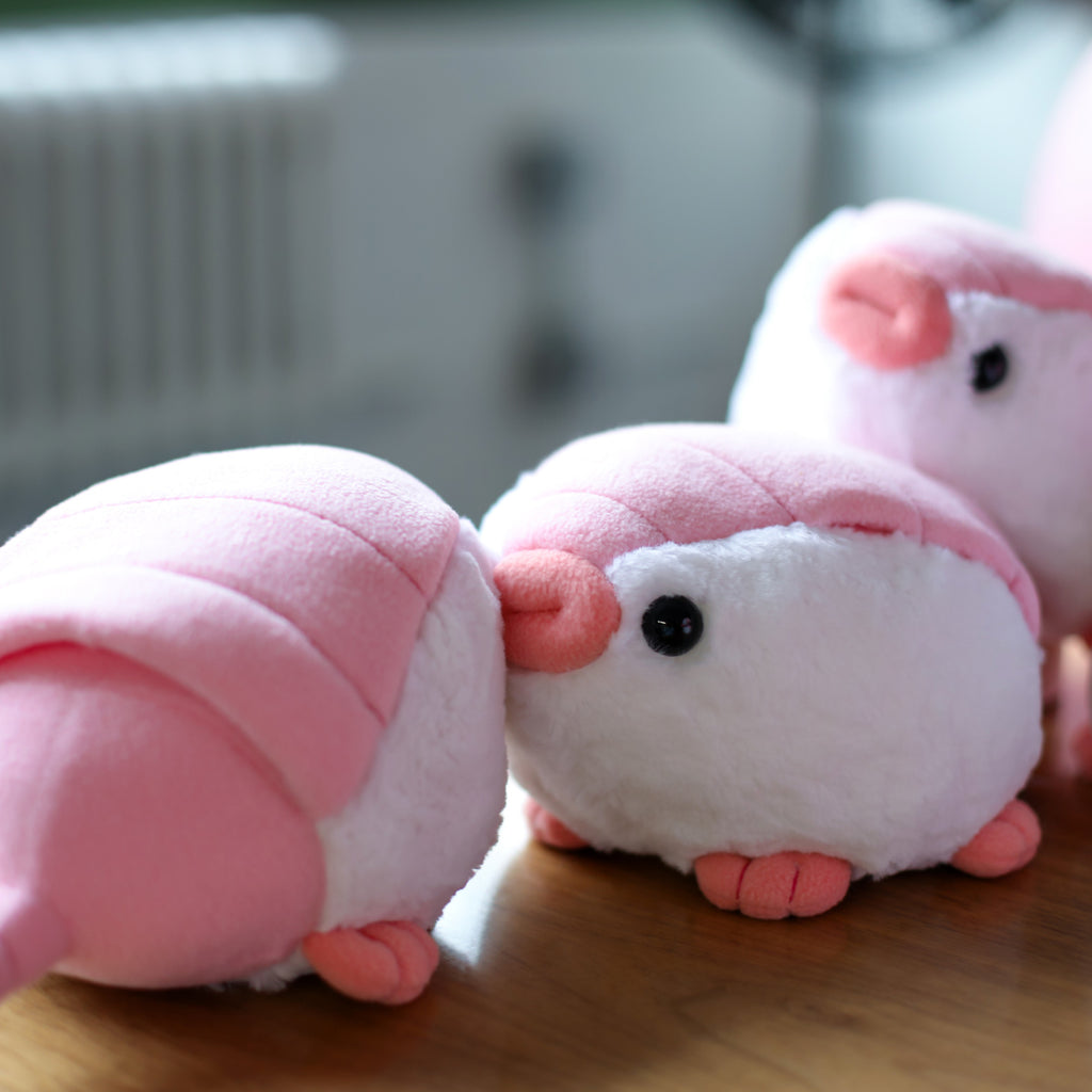 Pink Fairy Armadillo plushies