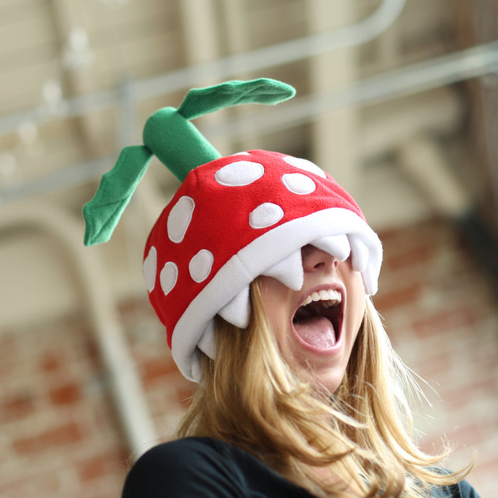 Official Piranha Plant beanie