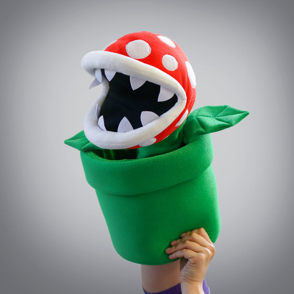 Gigantic Piranha Plant Puppet (mouth open)