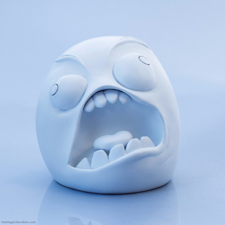 Rage Guy figurine
