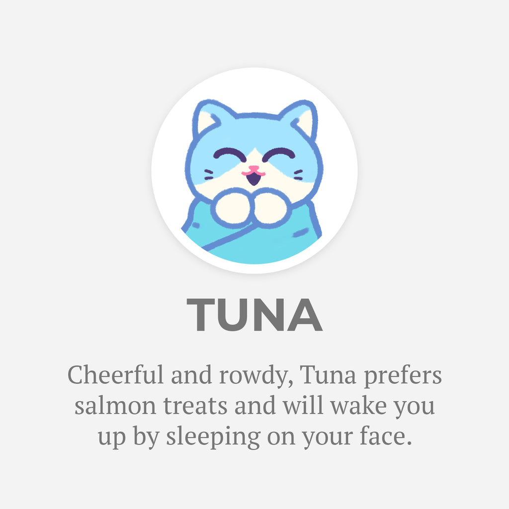 Purritos - Meet Tuna