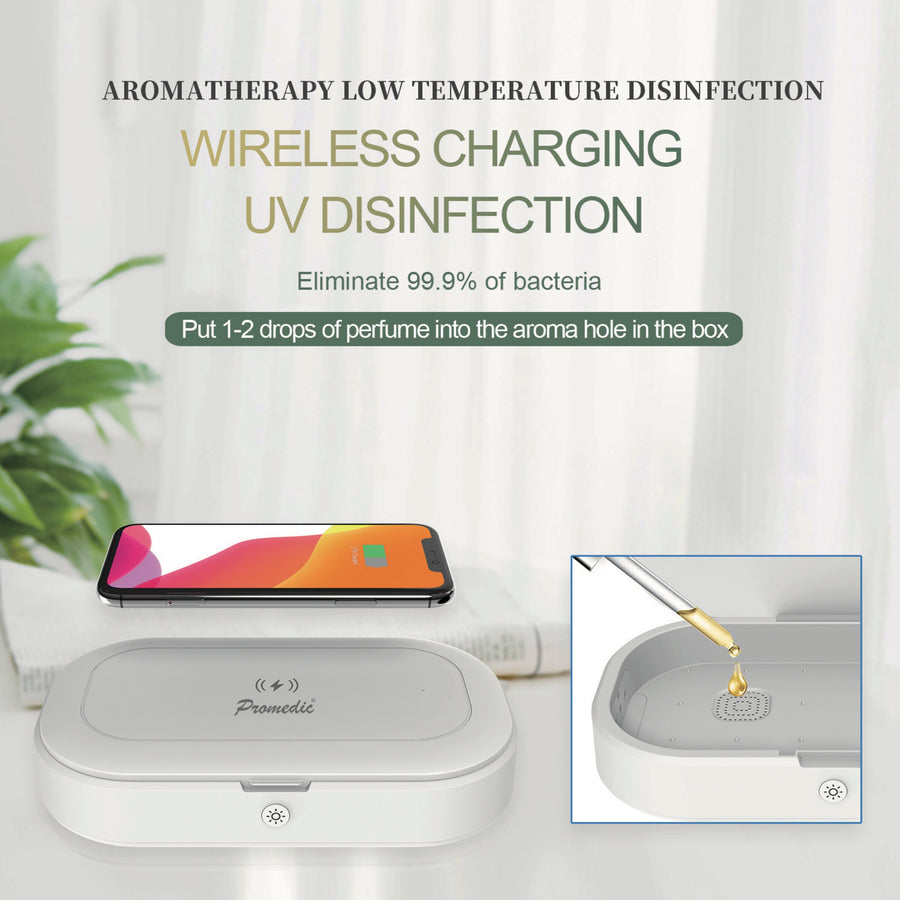 UV Sterilizer with Wireless Charger