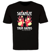 SATANIZE YOUR HANDS Mens/Unisex Shirt