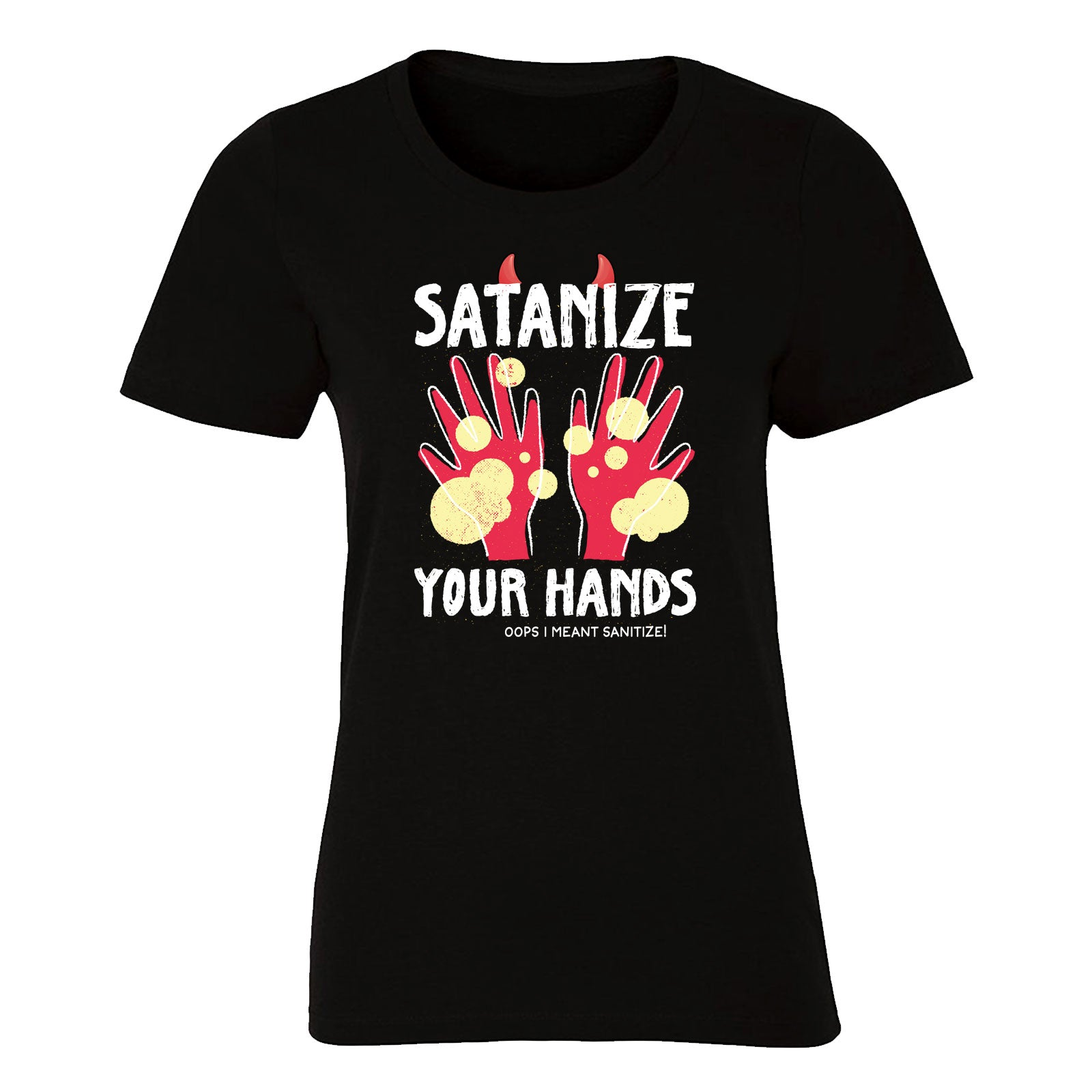 Satanize Your Hands (Women's)