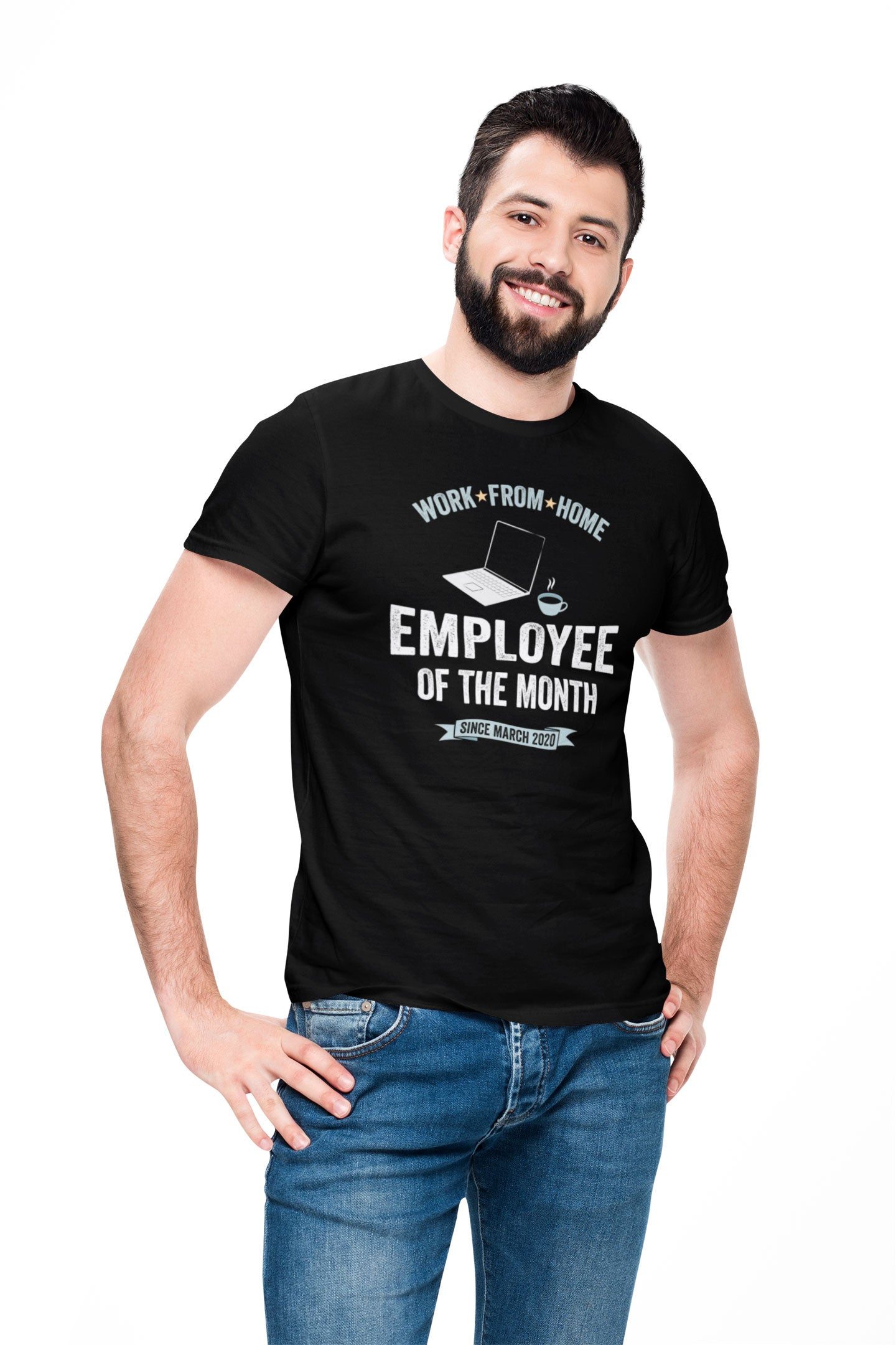 Work From Home Employee Of The Month (Men's)