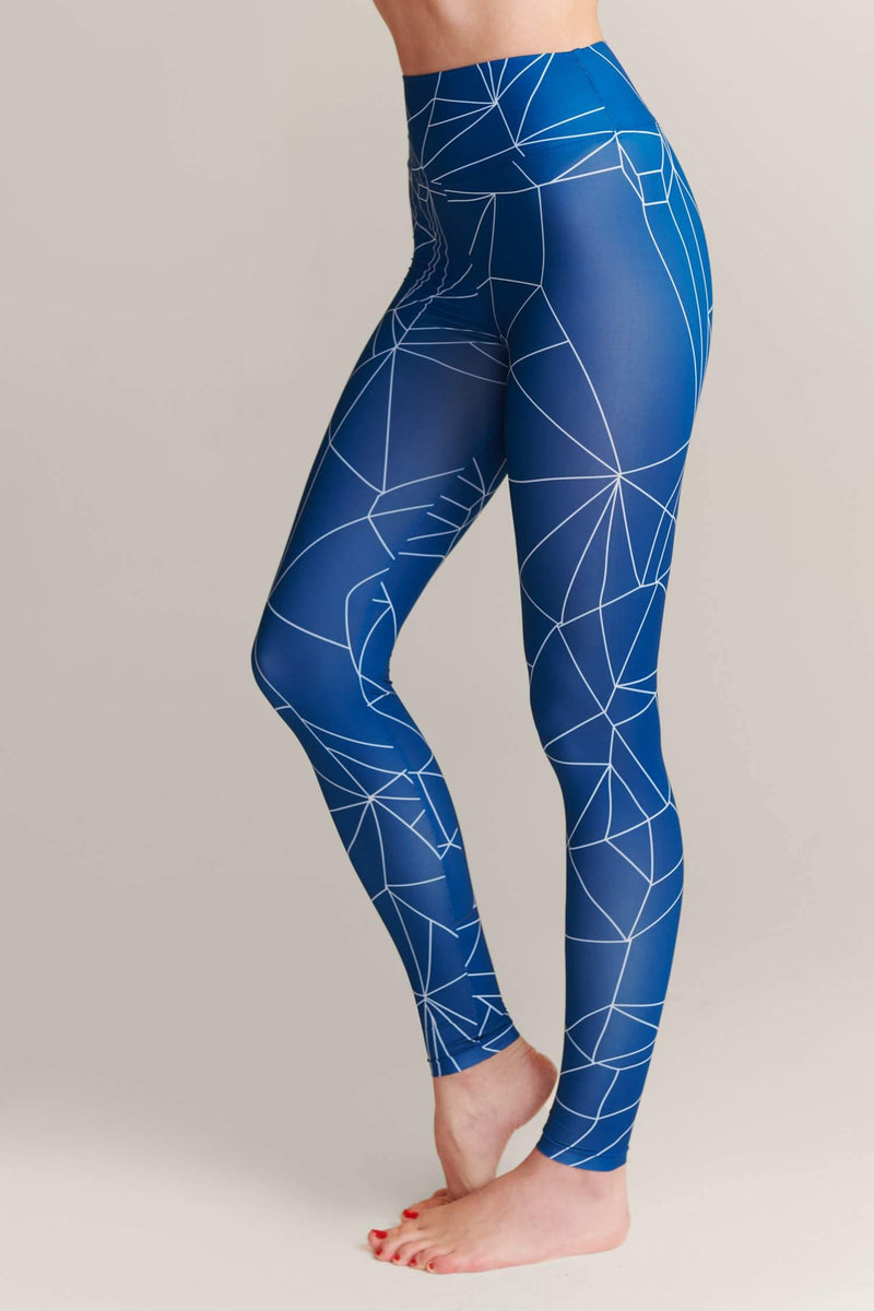 Shattered Cobalt Leggings - JSP Ready