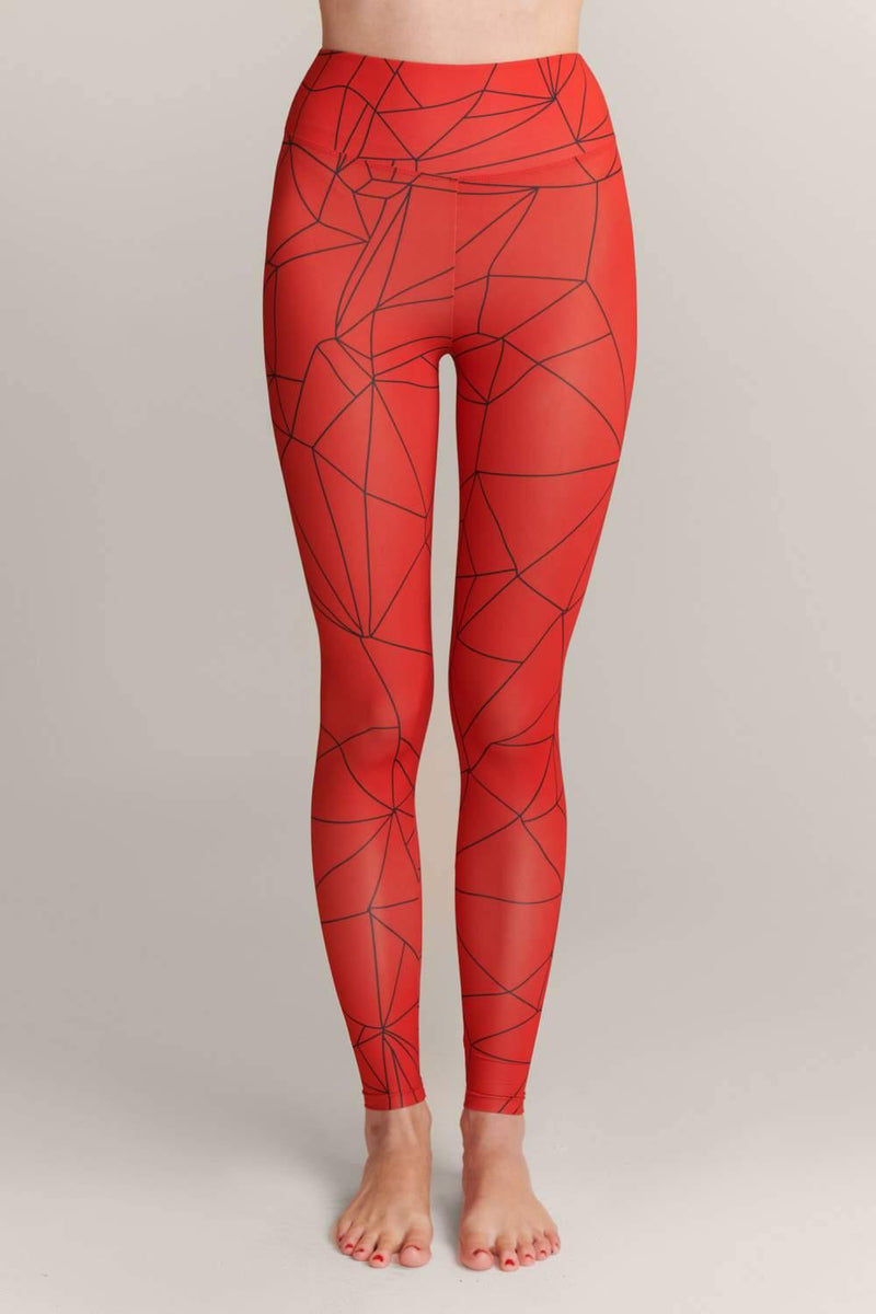 Shattered Coral Leggings - JSP Ready
