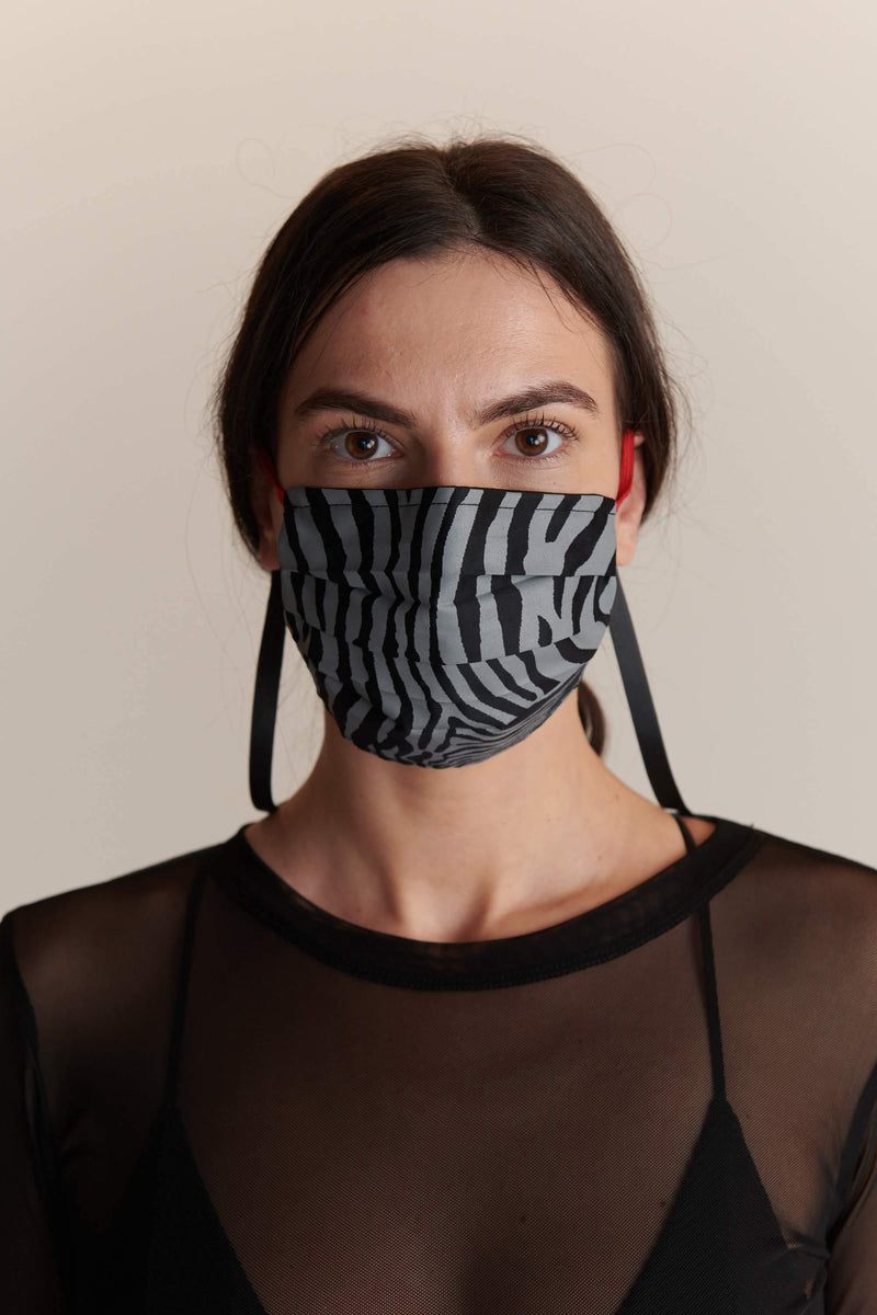 Zebra Infinite Face Mask - JSP Ready