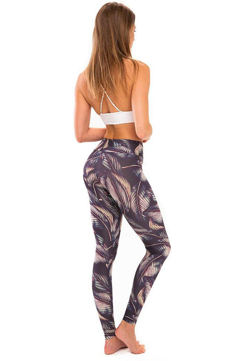 Rustling Leaves Leggings - JSP Ready