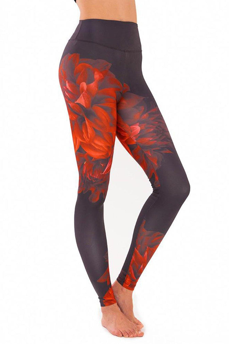 Night Flower Leggings - JSP Ready