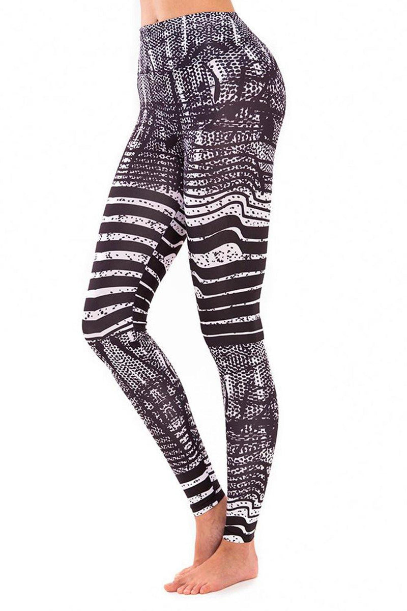 Matrix Glitch Leggings - JSP Ready