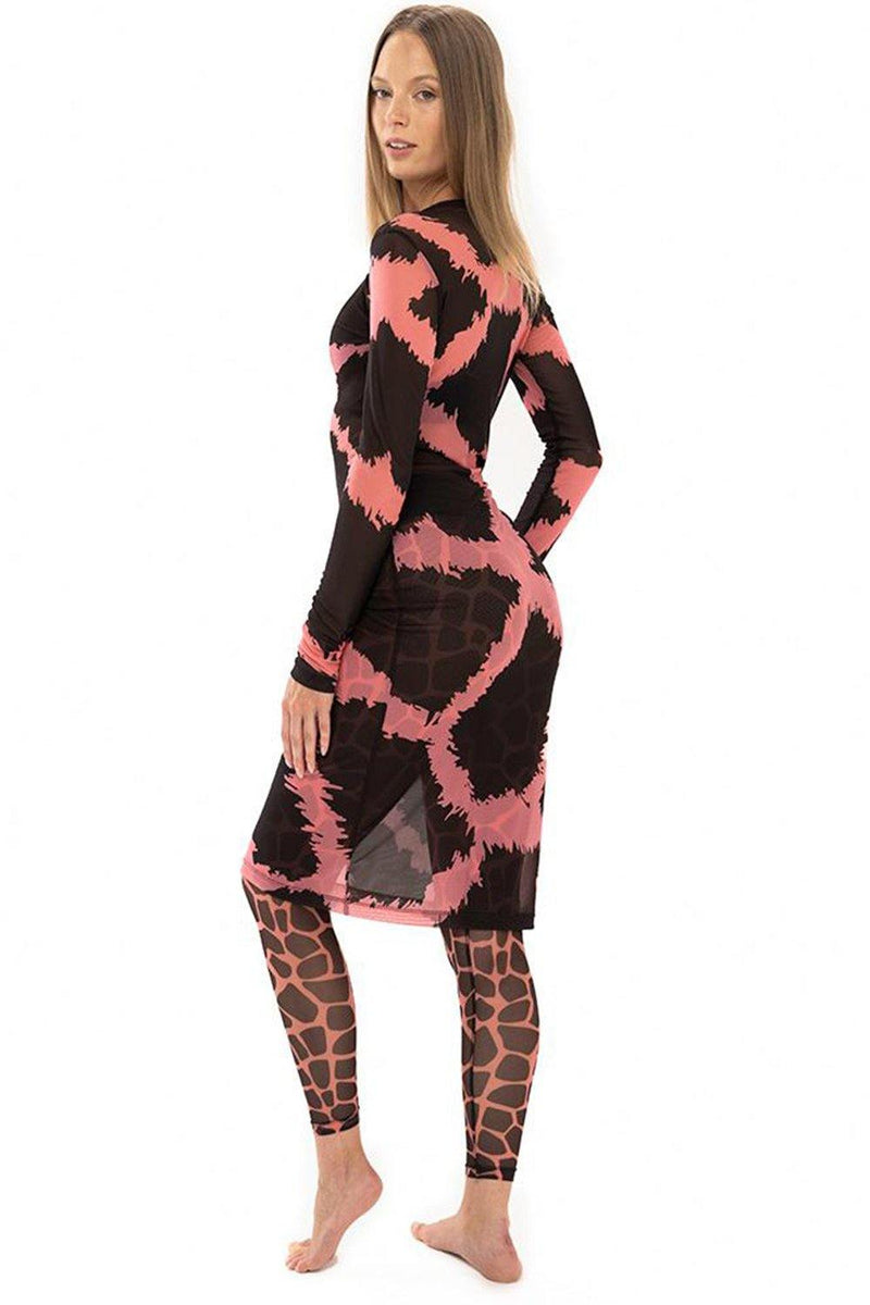 Giraffe Hot Candy Mesh Tunic - JSP Ready