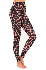 Giraffe Hot Candy Leggings - JSP Ready