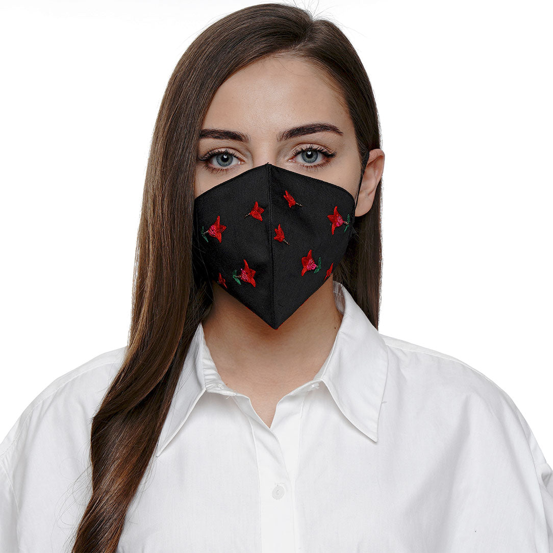 Morissa19A Embroidered Mask