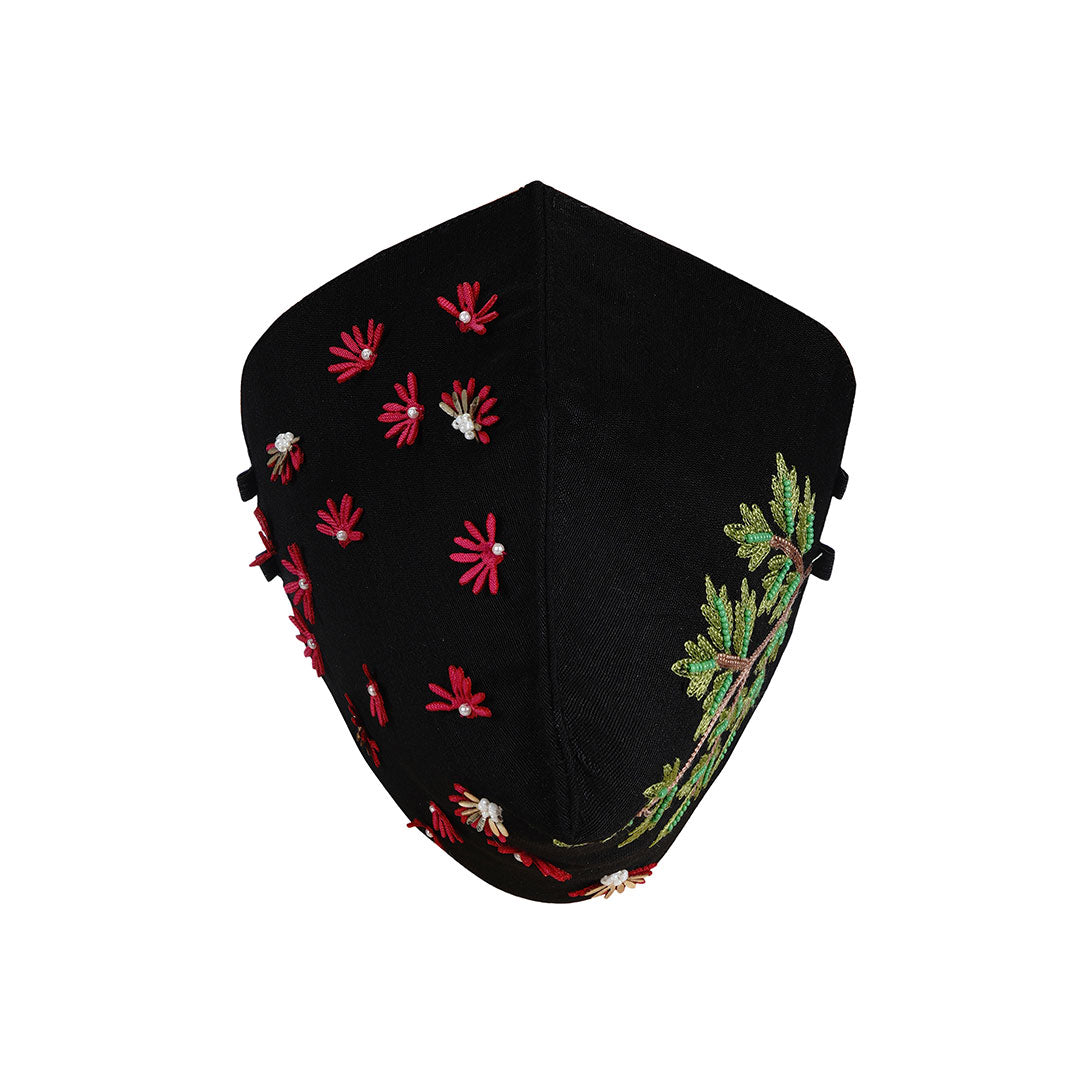 Bellini Embroidered Mask