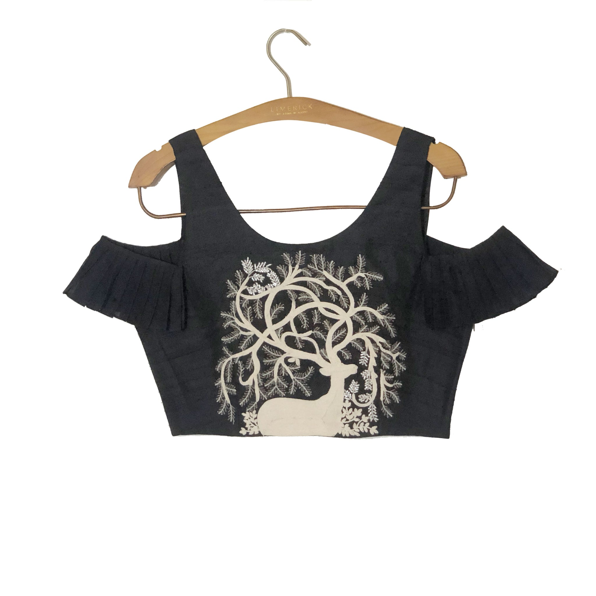 Embroidered Croptop