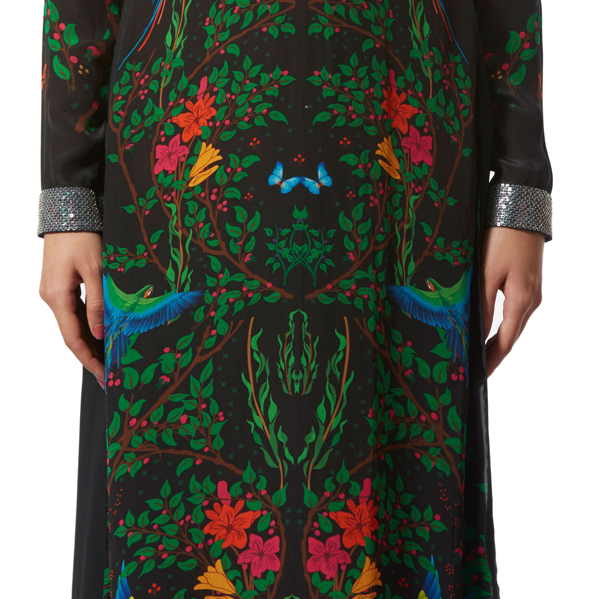 Embroidered High Low Tunic