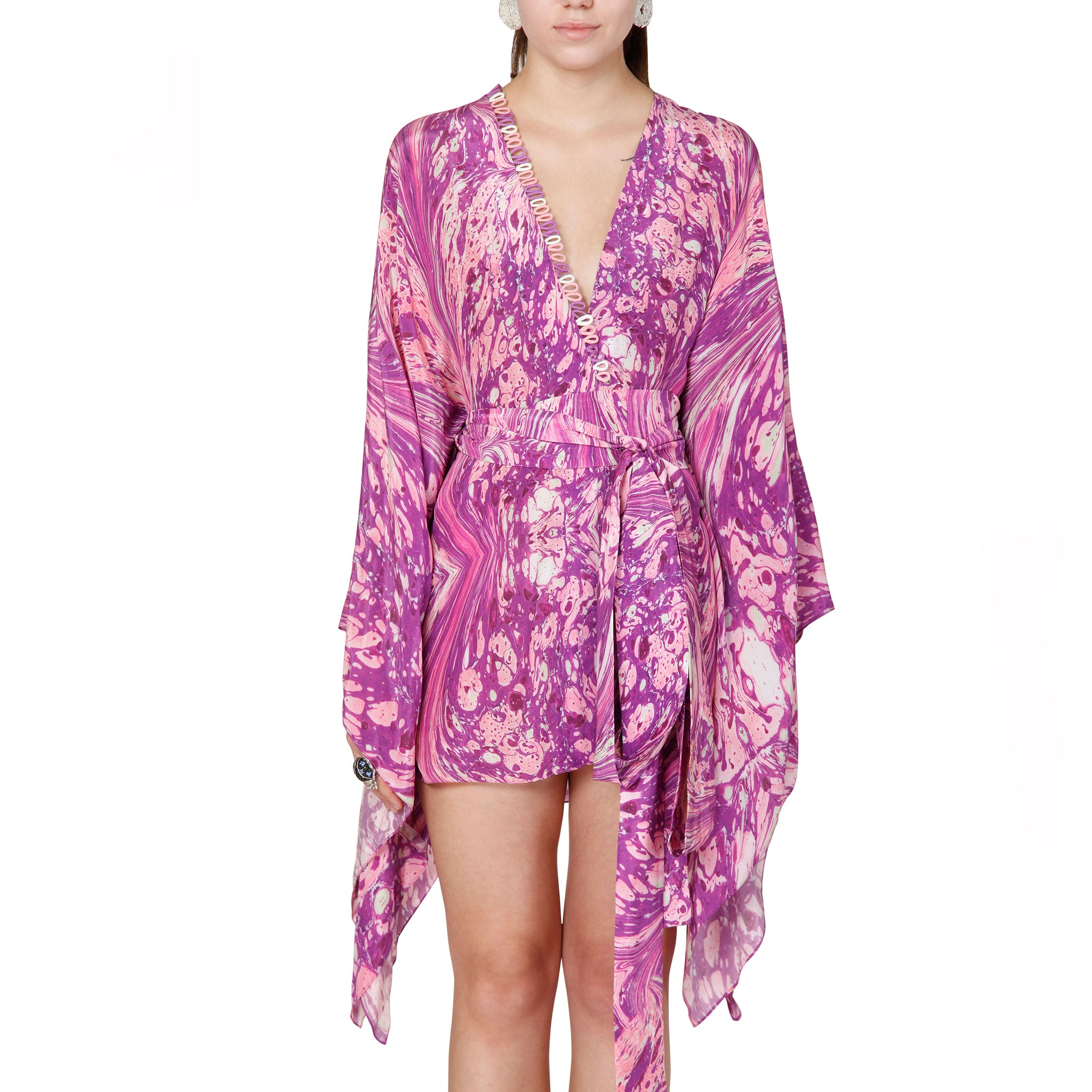 Short Kaftan Dress