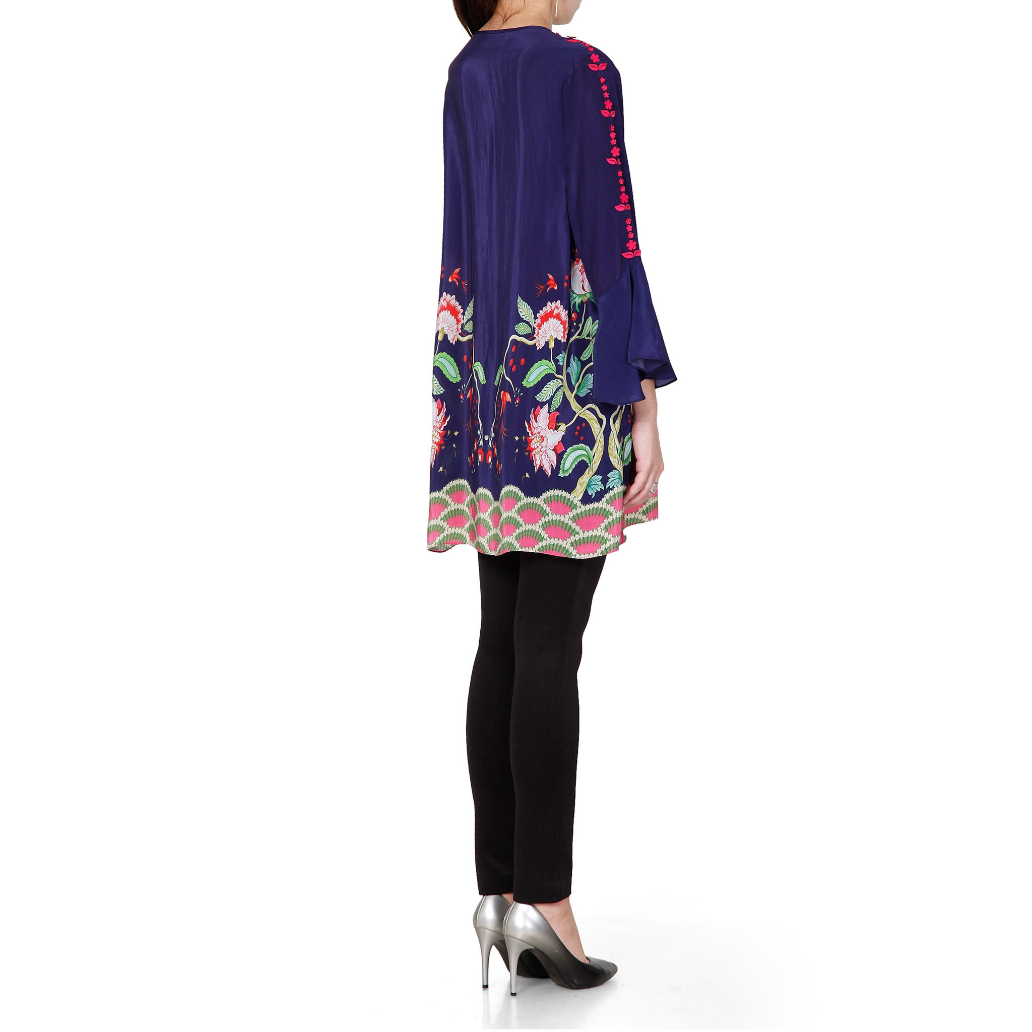 Embroidered & Printed Tunic