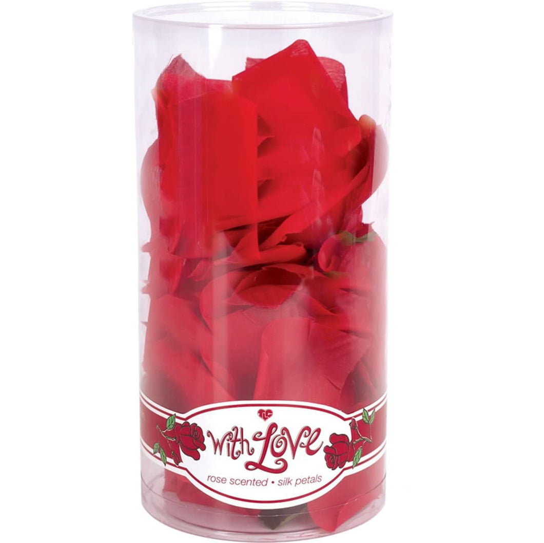 With Love Scented Silk Rose Petals