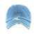 Distressed Blue Denim Baseball Cap