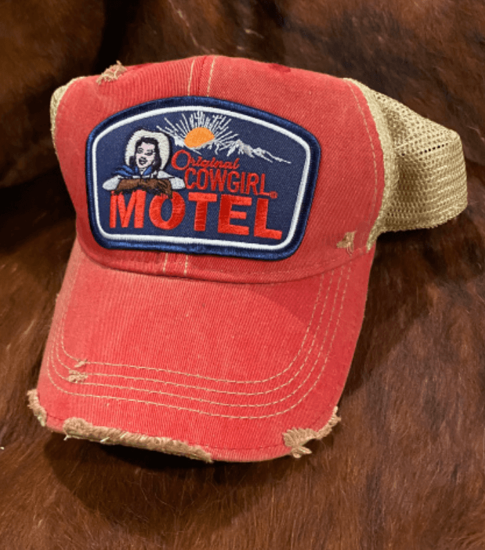 Red Original Cowgirl Motel