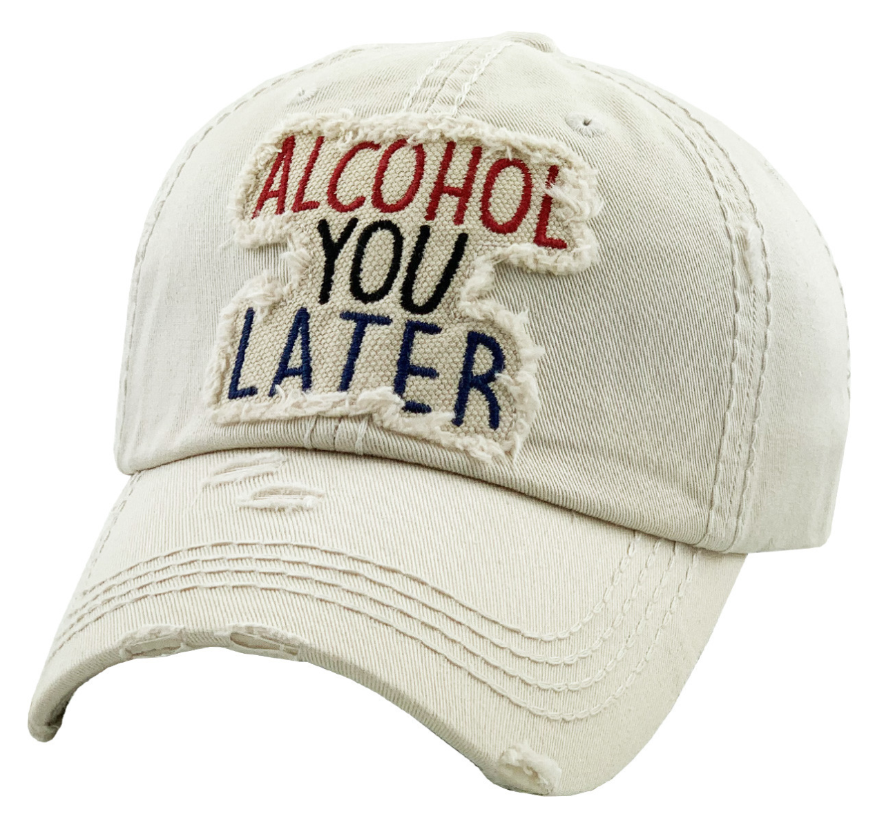 White Alcohol you Later