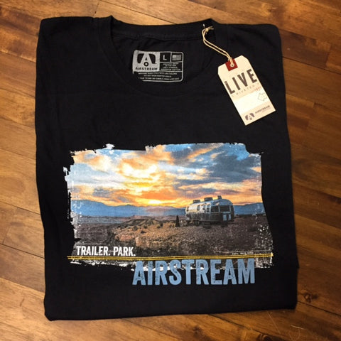 Airstream Trailer Park Photo T-Shirt - Airstream Brands