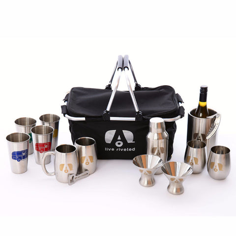 "Airstream ""Ultimate Barware"" Gift Basket - Airstream Brands"