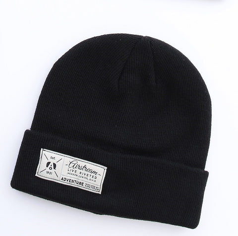 "Airstream ""Est. 1931"" Beanie - Black - Airstream Brands"