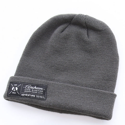 "Airstream ""Est. 1931"" Beanie - Grey - Airstream Brands"