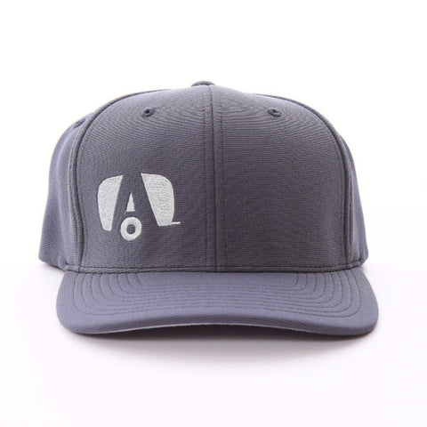 Airstream Logo Flex Fit Hat - Grey/Grey - Airstream Brands