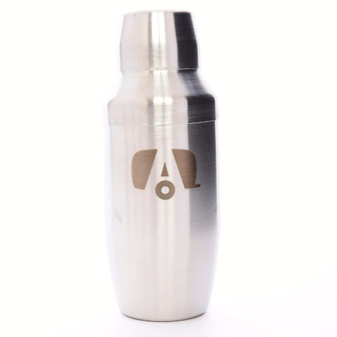 Airstream Stainless Steel Cocktail Shaker with Logo - Airstream Brands