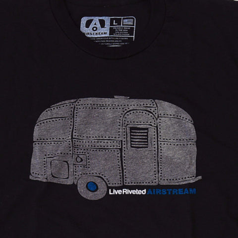 "Airstream ""Rivet Trailer"" T-Shirt - Black/Grey - Airstream Brands"