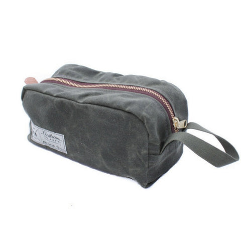 "Airstream ""Waxed Canvas Dopp Kit"" - NEW! - Airstream Brands"