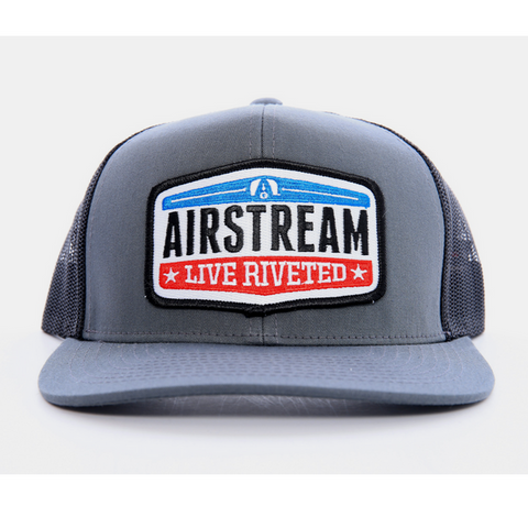 "Airstream ""Live Riveted"" Hat - Grey/Black"
