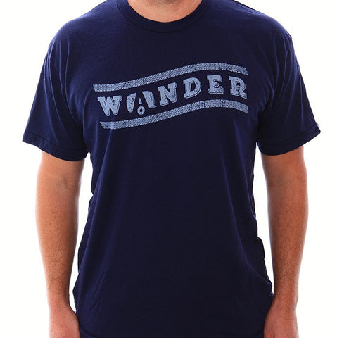 "Airstream ""Wander"" T-Shirt - Navy - Airstream Brands"