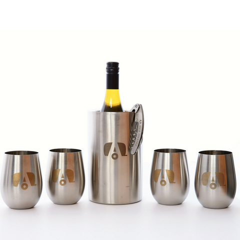 "Airstream ""SS Wine Lovers Bundle"" - Four Glasses"