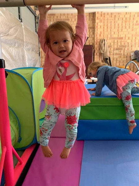 Tips and Tricks for your Pre-schooler on Gymnastics Bars !
