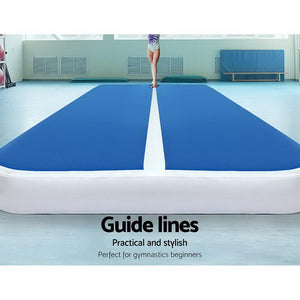 Air Track Tumbling Run Floor WITH PUMP (4mx2m x 20cm thick)